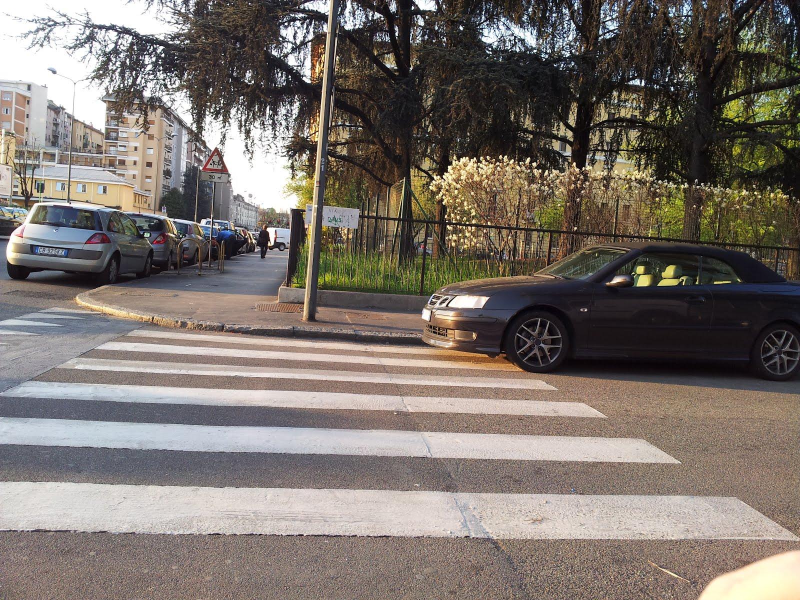 I marciapiedi: via Crimea