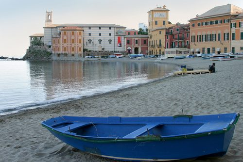 Vacanze al mare: spiaggia Sestri Levante