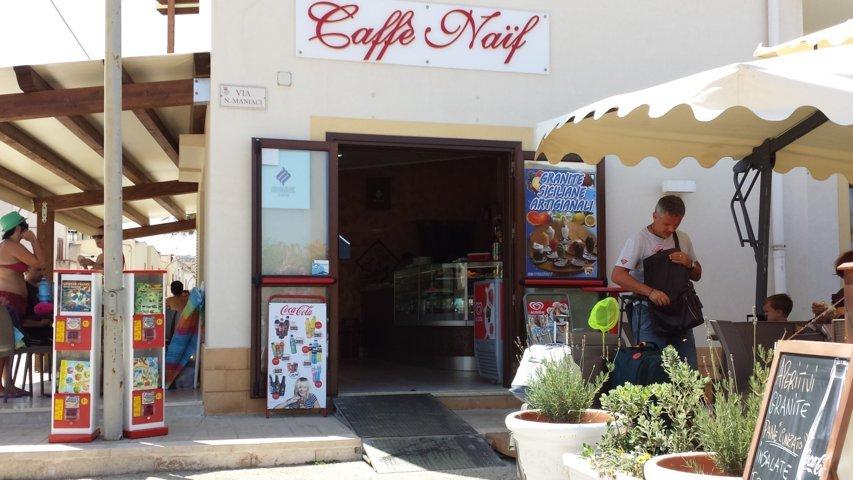 San Vito Lo Capo: Cafè Naif
