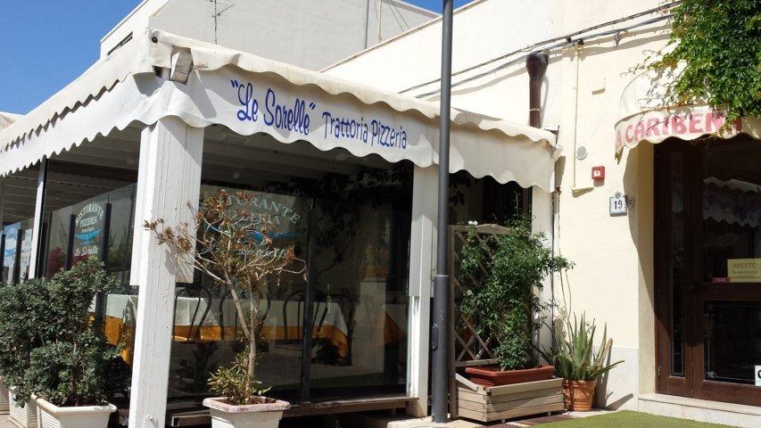 San Vito Lo Capo: Pizzeria Trattoria Le Sorelle