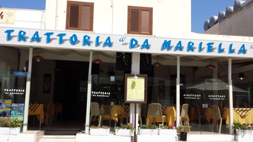 San Vito Lo Capo: Trattoria La Marinella