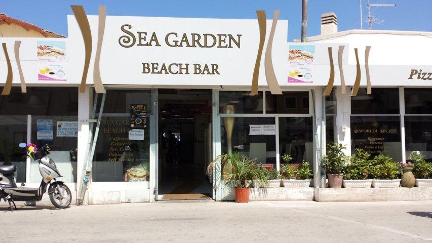 San Vito Lo Capo: Sea Garden Beach Bar