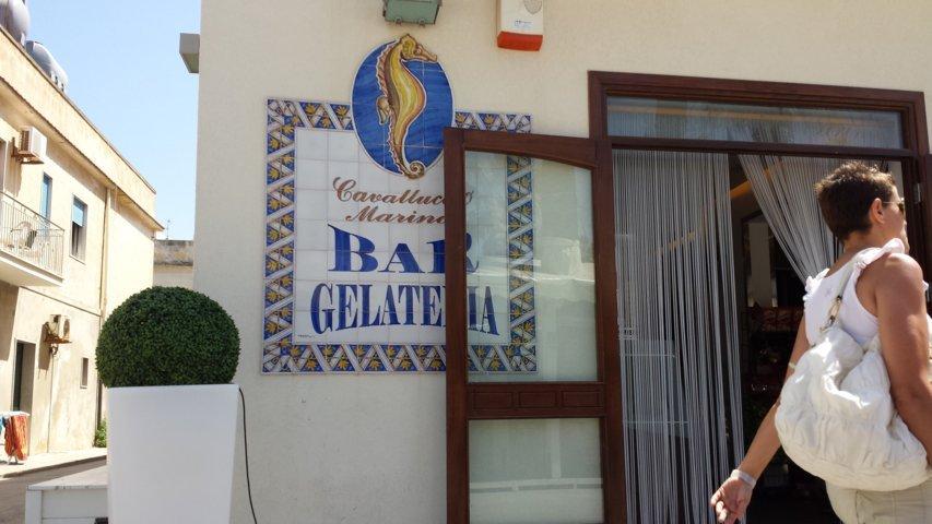 San Vito Lo Capo: bar gelateria Cavalluccio Marino