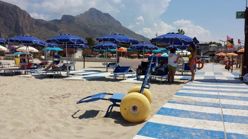 San Vito Lo Capo: spiaggia accessibile