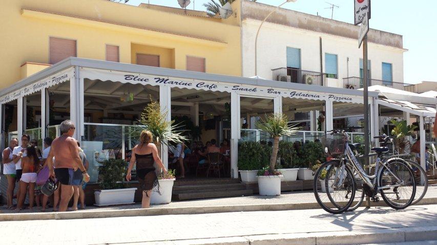 San Vito Lo Capo: Blue Marine Cafè