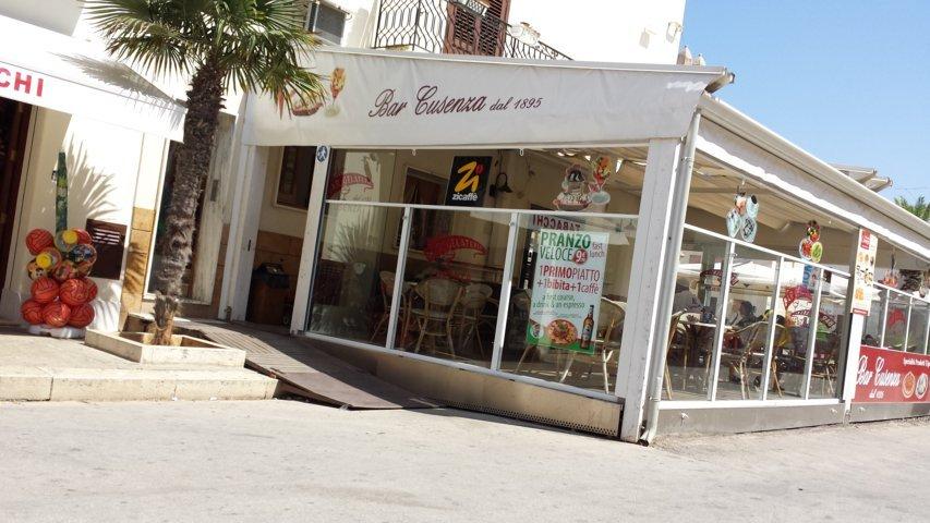 San Vito Lo Capo: Bar Cusenza