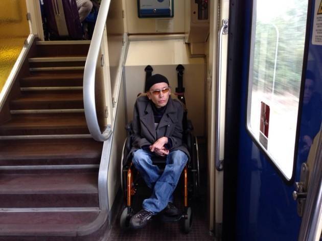 """Trenitalia: Max Ulivieri viaggiare è """"bello e impossibile"""""""