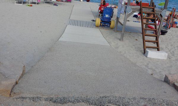 Spiaggie accessibili: Pittulongu (Olbia Tempio)