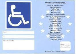 Convenzione ONU persone disabili e pass parcheggi disabili