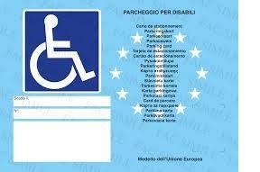 Auto: Pass disabili europei