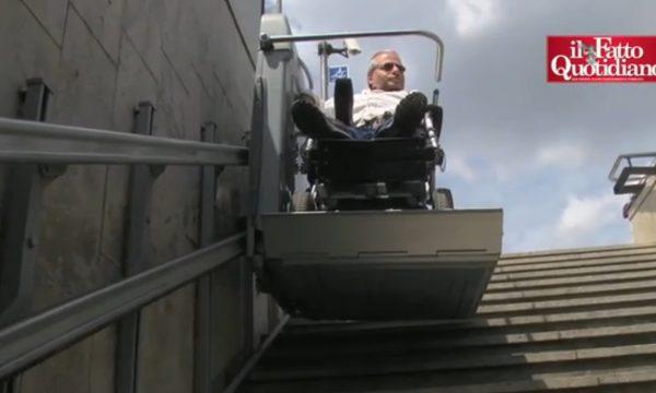 Non è un'Expo per disabili odissea in carrozzina sulla metropolitana milanese