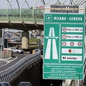Autostrada Serravalle: Milano – Genova